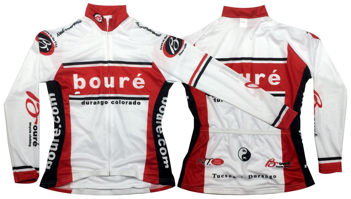 76ca4220e Women s Bouré Team UPF-28 Full-Zip Long Sleeve Cycling Jersey ...