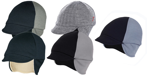 Reversible Merino Wool Cycling Cap - Bouré Bicycle Clothing 89704057854